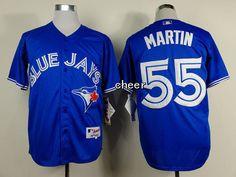 MLB Jerseys Toronto Blue Jays #55 martin blue Jerseys