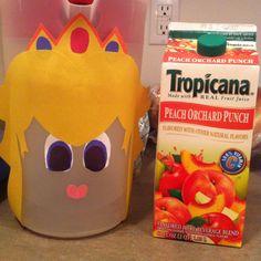 Princess peach drink