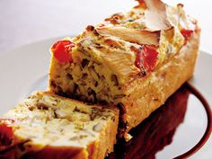 Cooking Bread, Quiche, Banana Bread, Sandwiches, Butter, Breakfast, Cake, Desserts, Recipes