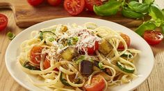 Grillgemüse+mit+Linguine+Rezept+»+Knorr