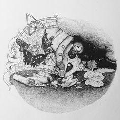 Stefano D'Andrea - illustration - Requiem