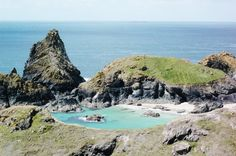 Wave dodging, rock climbing and treasure hunting at Kynance Cove on The Lizard - This Is Your Kingdom