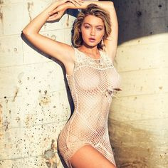 GIGI HADID BRINGS THE HEAT FOR GUESS SPRING '15 PREVIEW