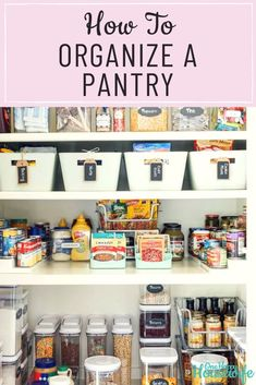 Is your pantry a source of embarrassment? Need practical storage and organization solutions to wrangle the clutter? Let's get that pantry.