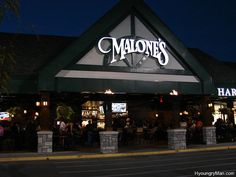 Malone's (Lexington, KY)- best steak ever!! Voted one of the top ten steakhouses in the US