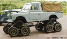 Cuthbertson Tracked Land Rover
