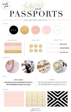 blush + gold
