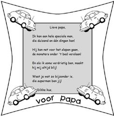 Vaderdag gedichtje - Ik vind het wel schattig!