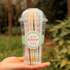 Aliexpress.com: Comprar ( 12 unids/lote ) Bohemia palillos pluma del Gel pluma Kawaii material escolar papelería regalo de don matraz fiable proveedores en Rainbow's store