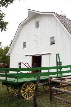 FARMHOUSE – BARN – vintage early american barn commonly used for storing farm equipment, storage of harvested crops, or providing shelter for livestock at deanna rose children's farmstead.