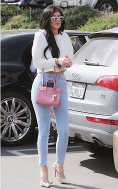 Kylie Jenner Outfits – Page 8376960110 – Lady Dress Designs Kendall E Kylie Jenner, Trajes Kylie Jenner, Looks Kylie Jenner, Estilo Kylie Jenner, Kylie Jenner Style, Kendall Jenner Outfits, Kylie Jenner Jeans, Estilo Kardashian, Kardashian Style