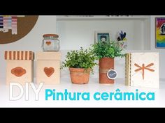 DIY : : Pintura cerâmica - YouTube