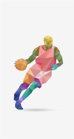 3 D, Abstract, Artwork, Basketball, Summary, Work Of Art, Auguste Rodin Artwork, Artworks, Illustrators