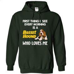 I See My Basset Hound Every Morning - t shirts online #hoodie diy #sudaderas sweatshirt