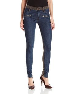 James Jeans Womens Twiggy Double Sided Front Zip Skinny Jean Edinburgh 25 * Click image to review more details.(This is an Amazon affiliate link)