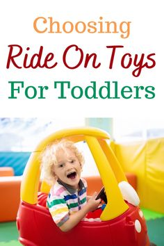 Ride on toys are great fun for toddlers but they can represent quite investment, of both money and space, so it's Important to choose the right ride on toy to suit your needs. #toddlers #toys Outside Toys For Toddlers, Wooden Ride On Toys, Toddler Car, Better One, Parenting Toddlers, Fire Engine, Potty Training, Toddler Activities, Are You The One