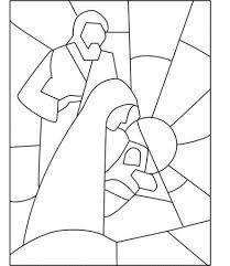 Resultado de imagen para imagenes de navidad para calcar Christmas Rock, Christmas Nativity, Christmas Colors, Christmas Ornaments, Xmas, Stained Glass Christmas, Faux Stained Glass, Stained Glass Patterns, Christmas Drawing