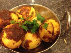 Tandoori Eggs