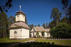 Säräisniemen kirkko - Vaalan seurakuntaVaalan seurakunta