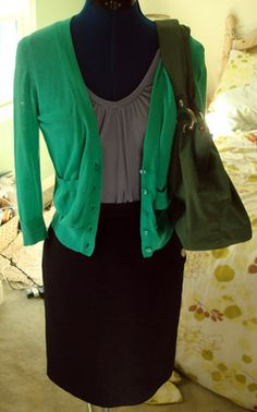 I could use some more cute cardigans! I esp love this color!!!