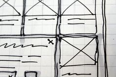 Sketched Wireframe by Todd_Moy, via Flickr