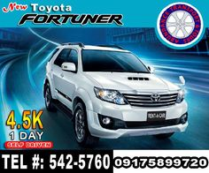 For more information or inquiries Email us: tgf2008@ymail.com Telephone: 542-5760 Mobile: 09175899720 Car Rental, Vehicle Rental, Self Driving, Toyota, Transportation, Van, Manila, Telephone, Vans