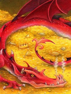 Smaug from The Hobbit, by Aaron Zenz