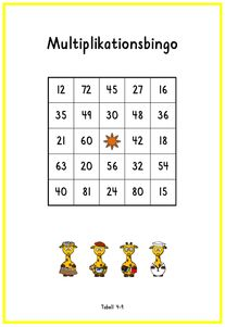 Multibingo Multiplication And Division, Numeracy, My Job, Algebra, Math Lessons, School Supplies, Good To Know, Teaching, Education