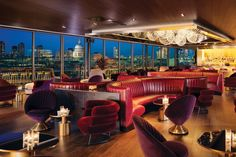 The Rumpus Room rooftop terrace at the Mondrian London