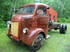 Antique Trucks, Antique Cars, Old Pickup Trucks, Cab Over, Chevy, Ford, Antiques, Vehicles, Vintage