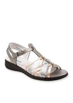 Softwalk Metallic Taft Sandal