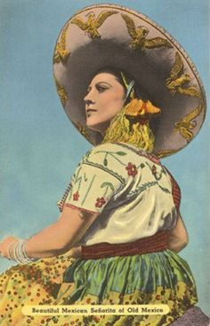 The paintings present images of Mexican women that emphasized the popular ideal of Mexican culture, yet drew on Hollywood and American standards of female beauty. Description from pinterest.com. I searched for this on bing.com/images