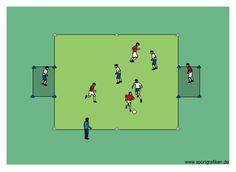 http://www.top-soccer-drills.com/3v3-target-players.html #soccercoachingforkids