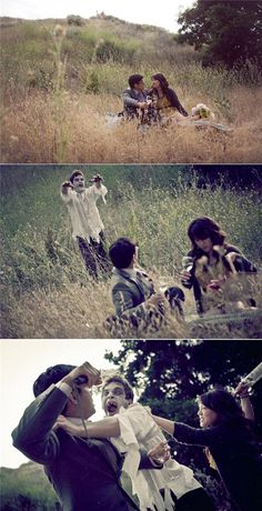 Zombie Engagement, haha totally something Rene would want to do...