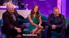 1143ece3fc69 If you missed Melanie on Alan Carr  Chatty Man last night you can watch the
