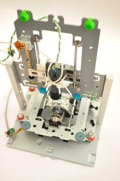 Laser cutting with 1 watt laser