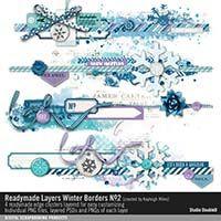 Readymade Layers: Winter Borders No. 02