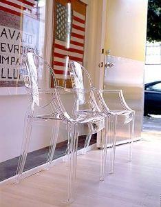 Kartell Louis Ghost design Philippe Starck