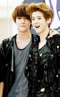 I love luhan's smile !!! and sehun so cute !!