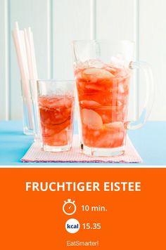 Fruchtiger Eistee