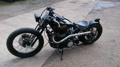 Hinckley Triumph Custom Build by Fenland Choppers