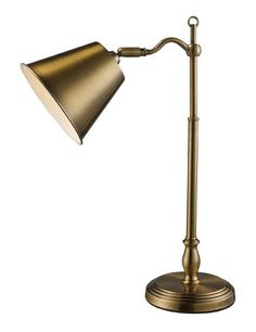 Dimond D1837 11 Inch Width By 19 Inch Height Hamilton Desk Lamp In Antique