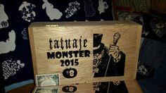 Cigar Box Tatuaje Monster 2015 Halloween by IndustrialPlanet