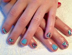Gel Polish - Naturally Happy Nails - tribal