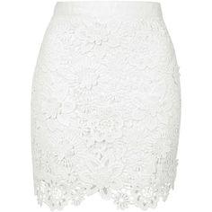 Crochet skirt white lace 38 Ideas for 2019 White Lace Skirt, Floral Mini Skirt, White Mini Skirts, Floral Skirts, Short Floral, Floral Lace, Body Con Skirt, Short Skirts, Print Skirt