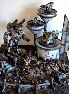 Warhammer 40000,warhammer40000, warhammer40k, warhammer 40k, ваха, сорокотысячник,фэндомы,KX139 Ta'unar,Tau Empire,Tau, Тау,TX4 Piranha,Commander Shadowsun,Hammerhead,XV88 Broadside,XV8 Crisis,Gun Drone,Fire warrior,Miniatures (Wh 40000),Ethereal,XV25