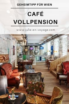 When it comes to café tips for Vienna, one thing must not be missing: the Café Vollpension. Why this is my new favorite café and you should definitely pay him a visit to your Vienna city trip, I'll tell you in this post. © Mark Glassner trip by jenvoyage Bucket List Destinations, Europe Destinations, Sauna Kits, The Ca, Holiday World, Café Bar, Austria Travel, Vienna Austria, City Break