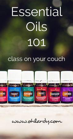 Essential Oils 101 - ohlardy.com
