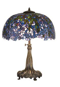 "Meyda 28.5""H Tiffany Laburnum Table Lamp"