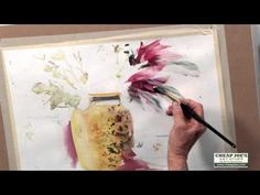 In a world full of a wide variety of brushes watercolor artist Betty Carr shares why she considers the Cheap Joe's Legend Kolinsky Sable Brush one of the ver. Watercolor Video, Watercolor Tips, Watercolour Tutorials, Watercolor Techniques, Watercolor Flowers, Watercolor Paintings, Watercolours, Abstract Paintings, Oil Paintings